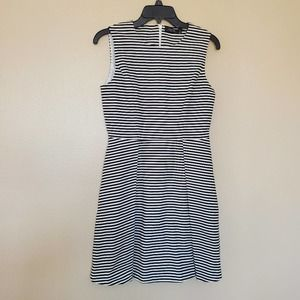 Kate Spade Saturday Fit and Flare Striped Dress